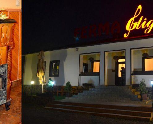 Restaurantul Gliga din Reghin, model de soba de teracota personalizata